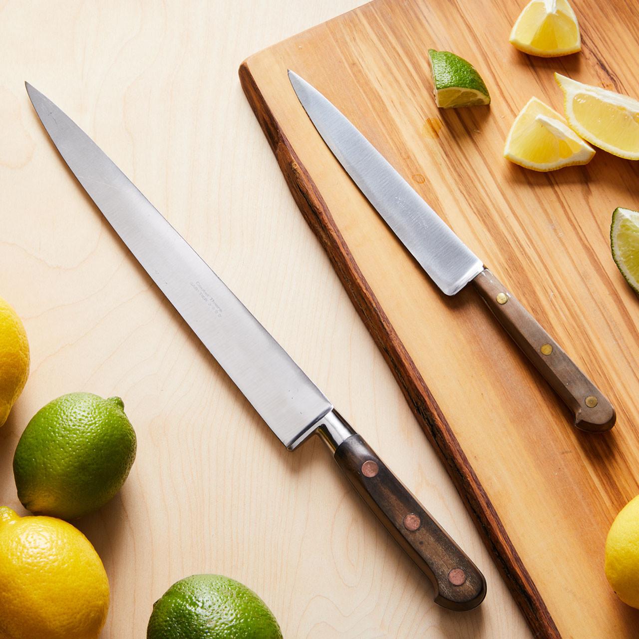 Pair Of Vintage Chef Knives Garrett Wade