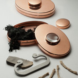 Copper Tinder Box and Fire Starter Kit