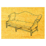 Chippendale Sofa - Stock #56
