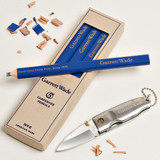 Carpenter's Pencils with Drop Point Pocket Knife Special