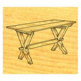 Sawbuck Table - Stock #OS4