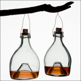 Traditional Glass Wasp Traps (3)