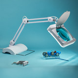 Pro Quality Magnifying Desk Lamp