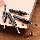 Hex Shank Drill and Countersink Set