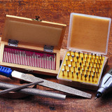 Diamond Burr Set (30) Wood Box
