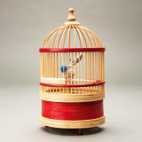 Singing Bird in a Bamboo Cage