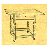 Tavern Table & Country Kitchen Table - Stock #10