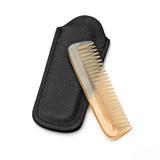 Small Beard Natural Horn Comb