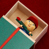 Boy Sleeping Box