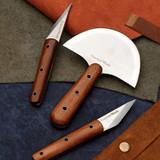 Three Leatherwork Crafting Knives