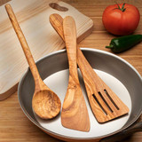 French Olivewood Cooking Utensils