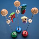 "Handmade Woodpecker ""Action Toy"""