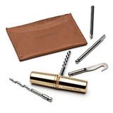 Beautiful Brass Capsule Multi-Tool & Wallet