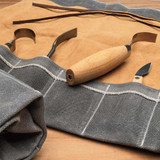 Suede/Duck-Cloth Tool Roll
