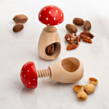 European Made Mushroom Nutcracker