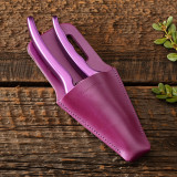 Purple Pruner and Sheath Set