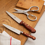 Vintage Knife and Kitchen Shears Trio