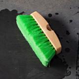 "8"" Oblong Waterflow Brush - Green Soft"