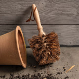 Conical Shaped Flower Pot Brush