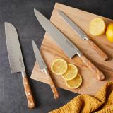Serrated Utility Knife 12cm Olivewood