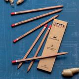 Set of Six Ruler Pencils