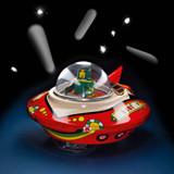 Windup Tin Flying Saucer