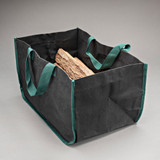 Double Thickness Black Log Carrier