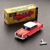 Red Mercedes 220-S Model Toy 1:45 Scale