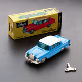 Blue/White Mercedes 220-S Model Toy 1:45 Scale