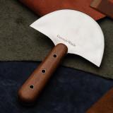 Half-Moon Leather Knife