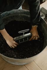 Soil Blocking with Bailey Van Tassel