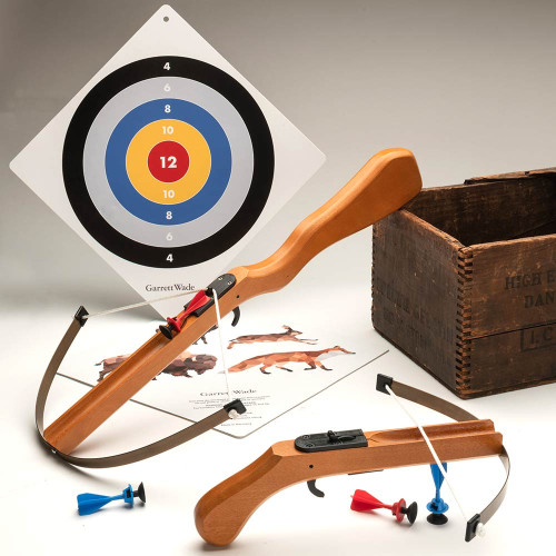 Bavarian Toy Crossbows with New Target Design