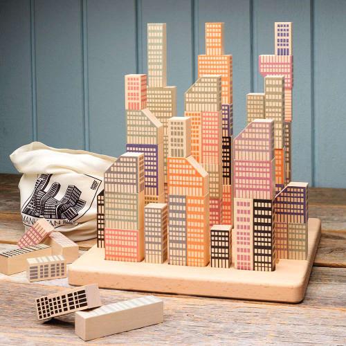 Manhattan Island Block Set