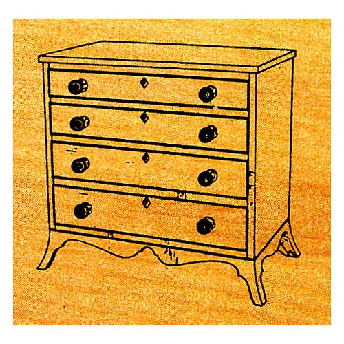 Miniature Hepplewhite Chest - Stock #M12
