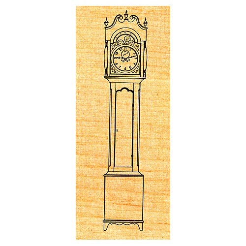 Country Tall Clock - Stock #49