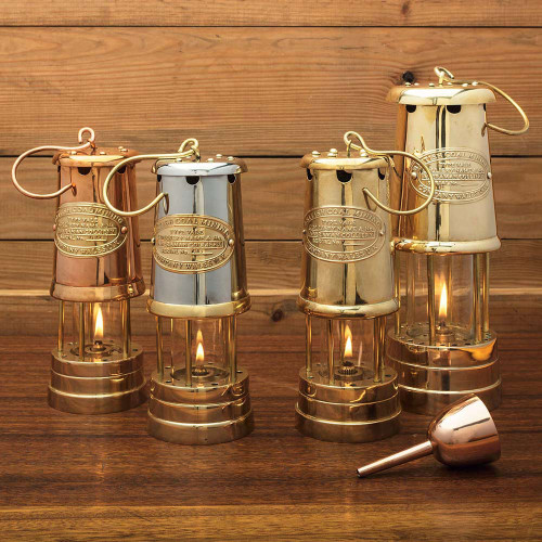 Beautiful Table-Top and Hanging Oil Lamps