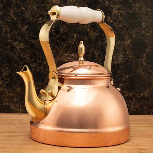 Copper Stove-Top Tea Kettle
