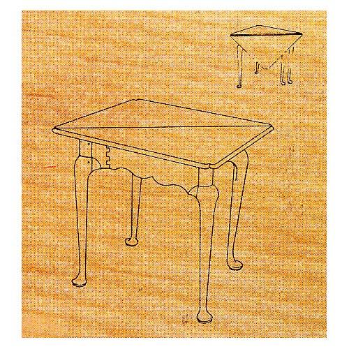 Queen Anne Corner Table - Stock #34