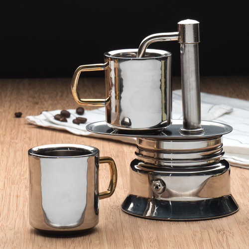 Double Walled Stainless Espresso Cup