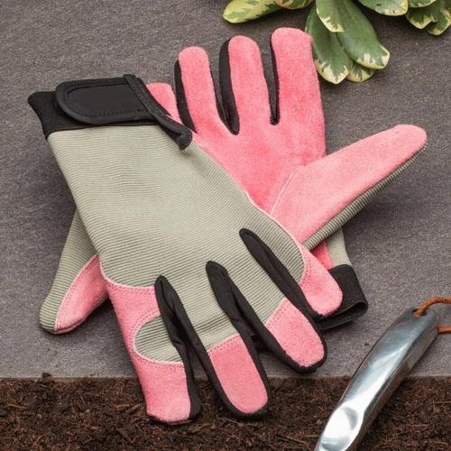 Pink Lady's Gloves - Med.