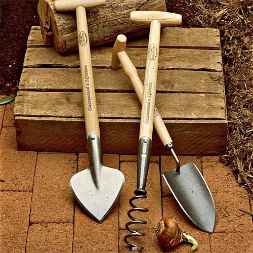 Half-Length Dutch Kneeling Tool Set of 3