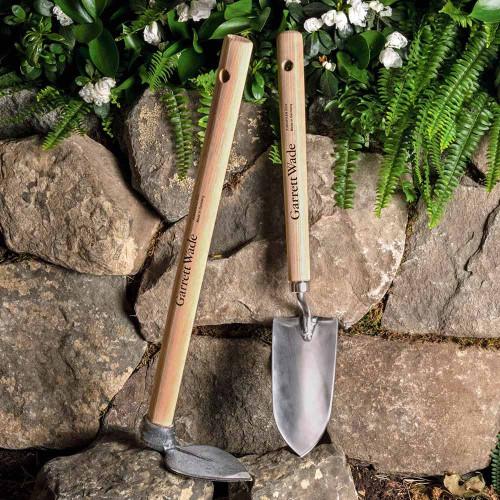 Half Length Shovel & Leaf-Shaped Hoe