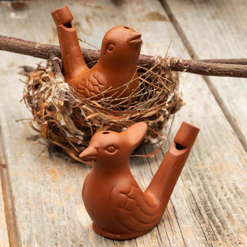 Melodious Clay Bird Whistles