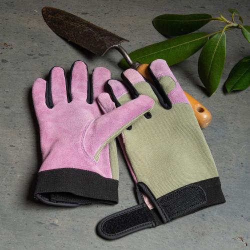 Lavender Lady's Gloves - Med.