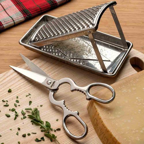 Kitchen Scissors & Foldable Grater Set