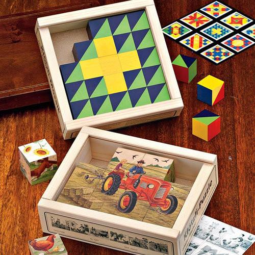 Mosaic Cube Set