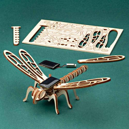 Solar Wooden Dragonfly Kit