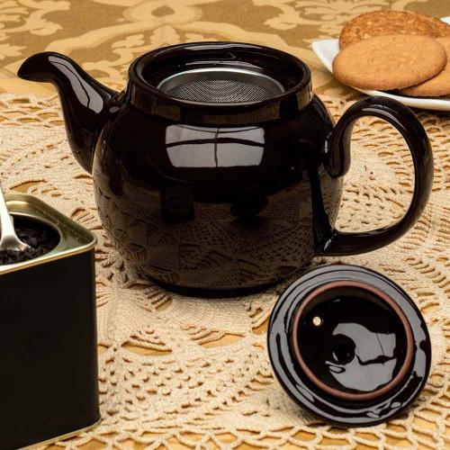 """""""Brown Betty"""" Teapot"""