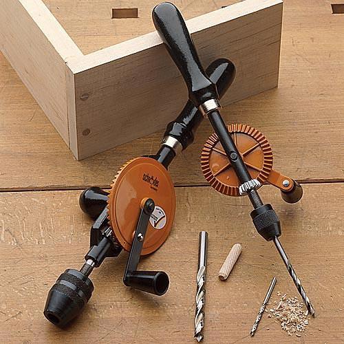 Beautiful German-Made Hand Drills