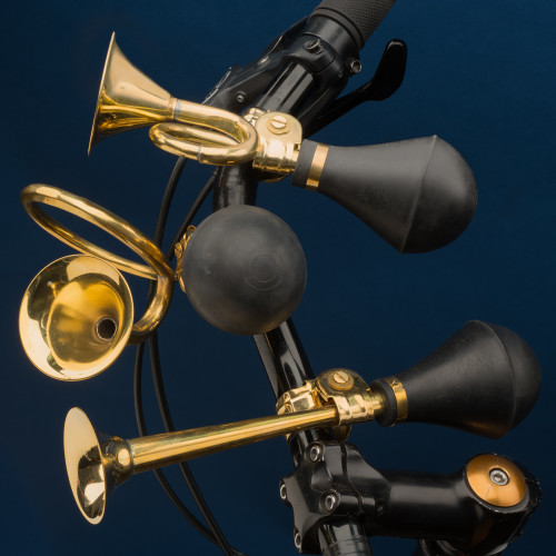 Solid Brass Bike Horns